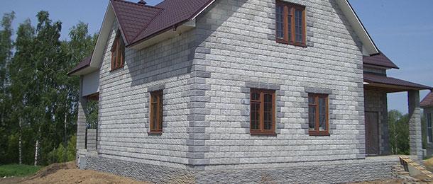 Сайдинг под кирпич для отделки фасада дома