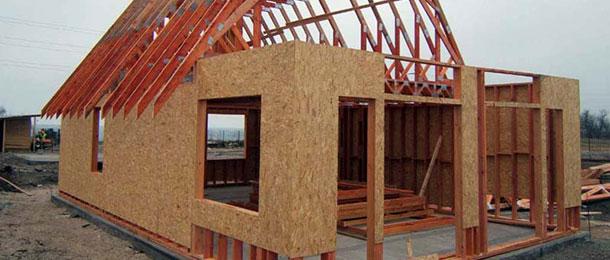 Как сделать каркасно щитовой дом